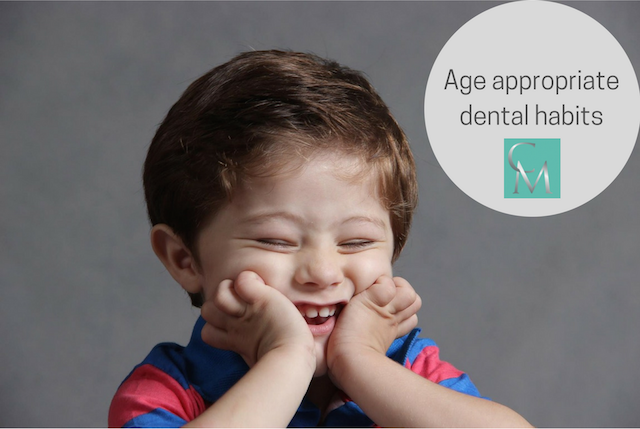 Age appropriate dental habits